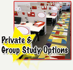 Private and Group Study Options