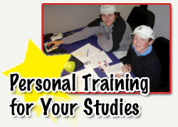 Personal training for your studies